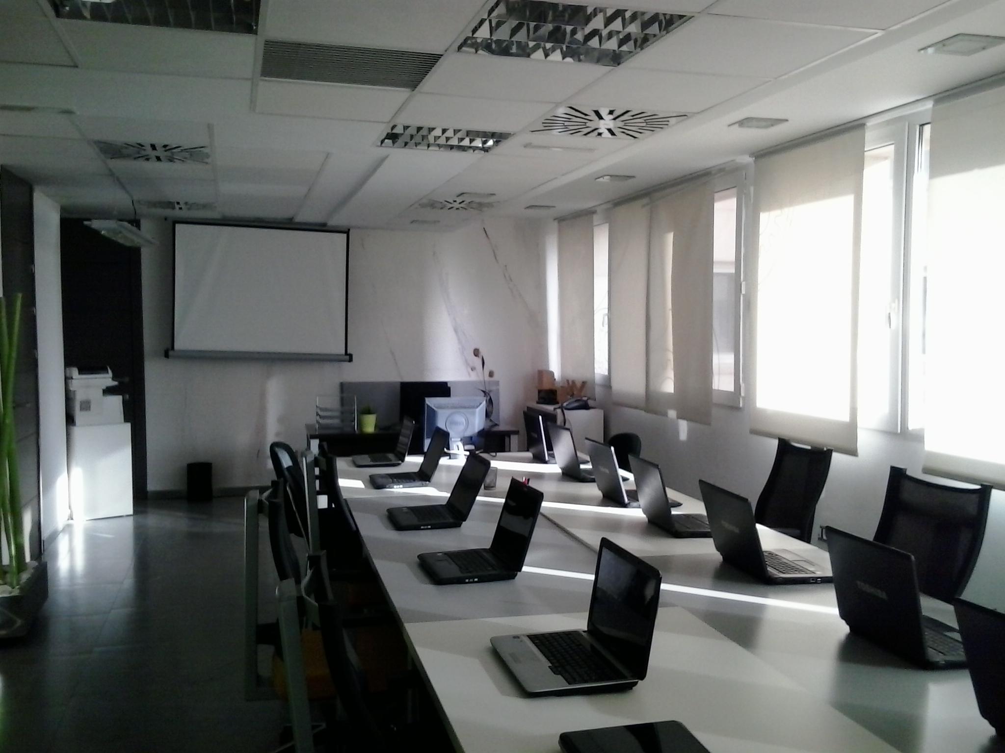 salas de formación para alquilar